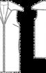 Жилет хутряний з широким коміром - фото 3