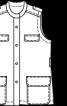 Жилет в стилі сафарі з коміром-стойкою - фото 3
