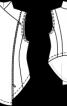 """Жилет приталеного крою в стилі """"шеббі-шик"""" - фото 3"""