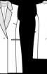 Приталений жилет в стилі блейзера - фото 3
