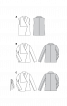 Жилет з асиметричним коміром - фото 3
