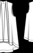 Жилет лляний А-силуету - фото 3