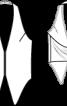 Жилет з бретеллю-петлею - фото 3