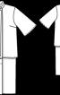 Сукня з ефектом двійки - фото 3