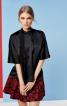 Блузка з розкльошеними рукавами - фото 1