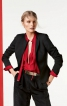 Жакет спенсер із баскою - фото 1
