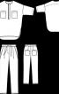 Блуза і брюки - фото 3