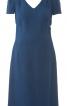 Сукня з призбореними окатами рукавів - фото 2