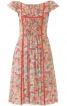 Сукня із міні-рукавами  реглан - фото 2
