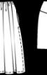Спідниця на фігурній кокетці - фото 3