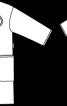 Пальто з видовженою лінією плечей - фото 3