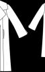 Пальто з рельєфними швами - фото 3