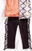 Штани на еластичному поясі з бахромою - фото 1