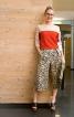 Спідниця-брюки зі складками на поясі - фото 1