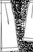 Спідниця-брюки з одворотами - фото 3