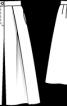 Брюки-кюлоти довжиною нижче колін - фото 3
