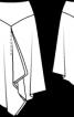 Спідниця із загостреною кокеткою - фото 3