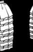 Багатошарова міні-спідниця - фото 3