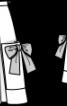 Спідниця із зустрічними складками - фото 3