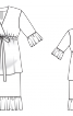 Сукня на еластичній кулісці - фото 3