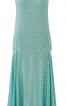 Сукня із заниженою талією без рукавів - фото 2