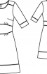 Сукня з широким поясом - фото 3