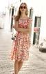 Сукня із міні-рукавами  реглан - фото 1