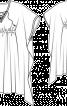 Сукня просторого крою із заниженими проймами - фото 3