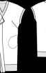 Сукня з V-подібним вирізом - фото 3