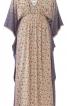 Сукня вільного крою із заниженими проймами - фото 2