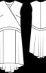 Сукня з міні-шлейфом - фото 3