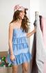 Сукня з фігурними оборками - фото 1