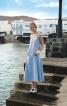 Сукня із заниженою талією і рельєфними швами - фото 1