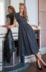 Вінтажна сукня відрізна по талії - фото 1