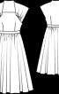 Вінтажна сукня відрізна по талії - фото 3