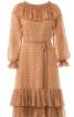 Сукня з воланами відрізна по талії - фото 2