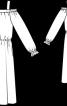 Сукня з вирізом кармен - фото 3