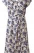 Сукня з запахом і суцільнокроєними рукавами - фото 2