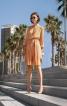 Сукня із відрізною спідницею плісе - фото 1