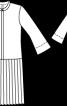 Сукня із відрізною спідницею плісе - фото 3