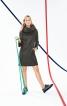 Міні-сукня із рукавами розтрубами - фото 1