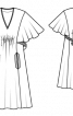 """Сукня із максі-""""крильцями"""" - фото 3"""