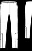 Брюки-дудочки - фото 3