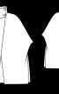 Накидка із комірцем-стійкою - фото 3