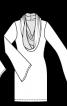Пуловер із коміром-хомутом - фото 3