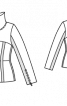 Куртка із високим коміром - фото 3