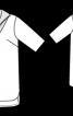 Сукня прямого крою з коміром - фото 3