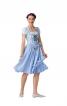 Сукня із рукавами-ліхтариками - фото 1
