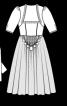 Сукня із шовковим ліфом - фото 3