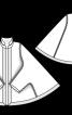 Накидка із суцільнокроєними рукавами - фото 3